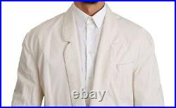 BALL Blazer White 100% Cotton Jacket Made in Italy s. IT48 / US38/M RRP $500