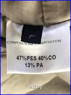 BRIONI Luxury Light Weight Rain / Trench Coat Made in Italy Mens Jacket Sz L