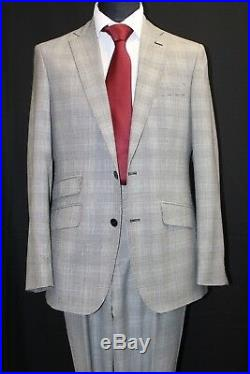 Black & White Check Suit- Prince Of Wales