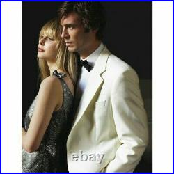 Brook Taverner The Savoy Tuxedo Classic Design With Teflon Coating In White