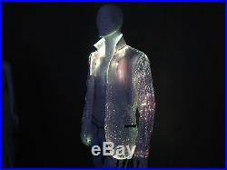 Light up your parties mens LED jackets luxury tuxedo suit performance wear RGB