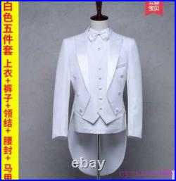 Mens Formal Weding Western Suits Jackets Blazers Tuxedo Tail Party Coats Pant SZ