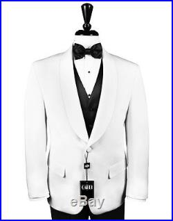 NEW Mens'Hamilton' Slim Fit White One Button Shawl Dinner Jacket by Cardi