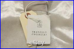 NWT$4225 Brunello Cucinelli Womens Velvet Tux Jacket WithSparkly Beading 42/M A191