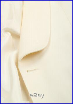 New TOM FORD O'Connor Ivory Tuxedo Dinner Jacket Size 48 / 38R U. S. Fit Y Ja