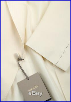 New TOM FORD Windsor Ivory Signature Tuxedo Dinner Jacket Fit A Size 52 IT /