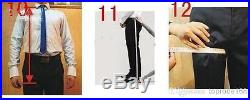 New White Groom Tuxedos with Black Dot Pattern Wedding Mens Suits Jacket+Pants