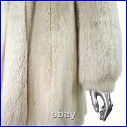 Pearl Mink Jacket with Fox Sleeves and Tuxedo- Size M (Vintage Furs)