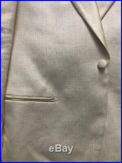 Suitsupply Off White Dinner Jacket 40R